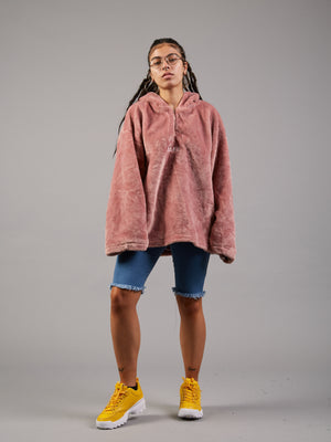 Smooth Operator Pink Velvet Fleece