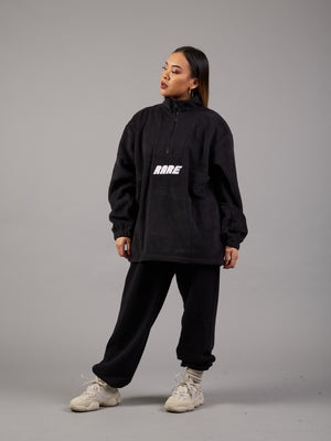 Catch a Cold Oversized Zip Fleece