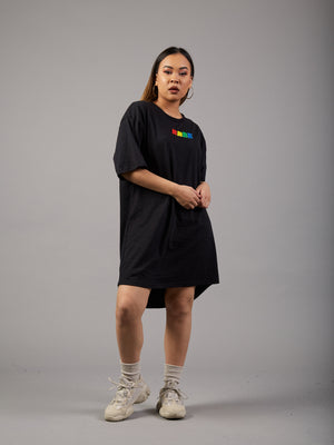 Get Loose 90's Tshirt Dress
