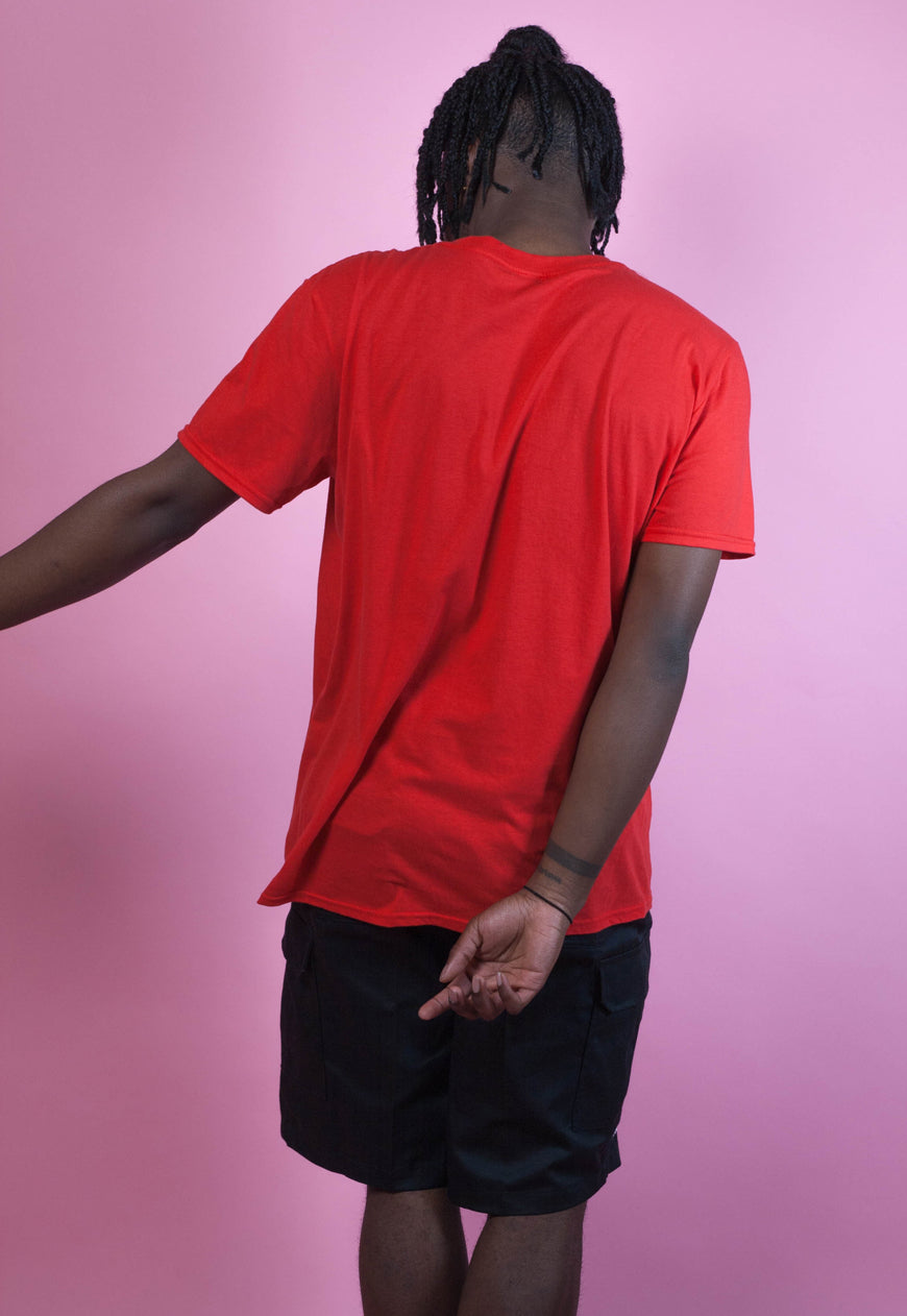 RED OVERSIZED RARE T-SHIRT