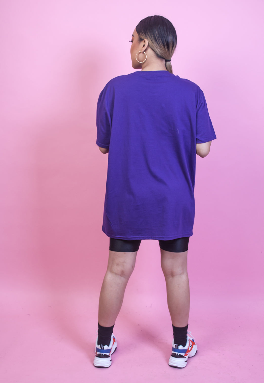 Sew Be It Purple Oversized Tshirt