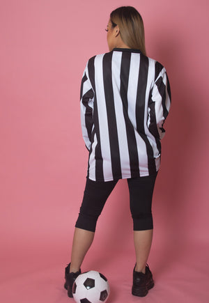 RARE STRIPED FOOTBALL SHIRT
