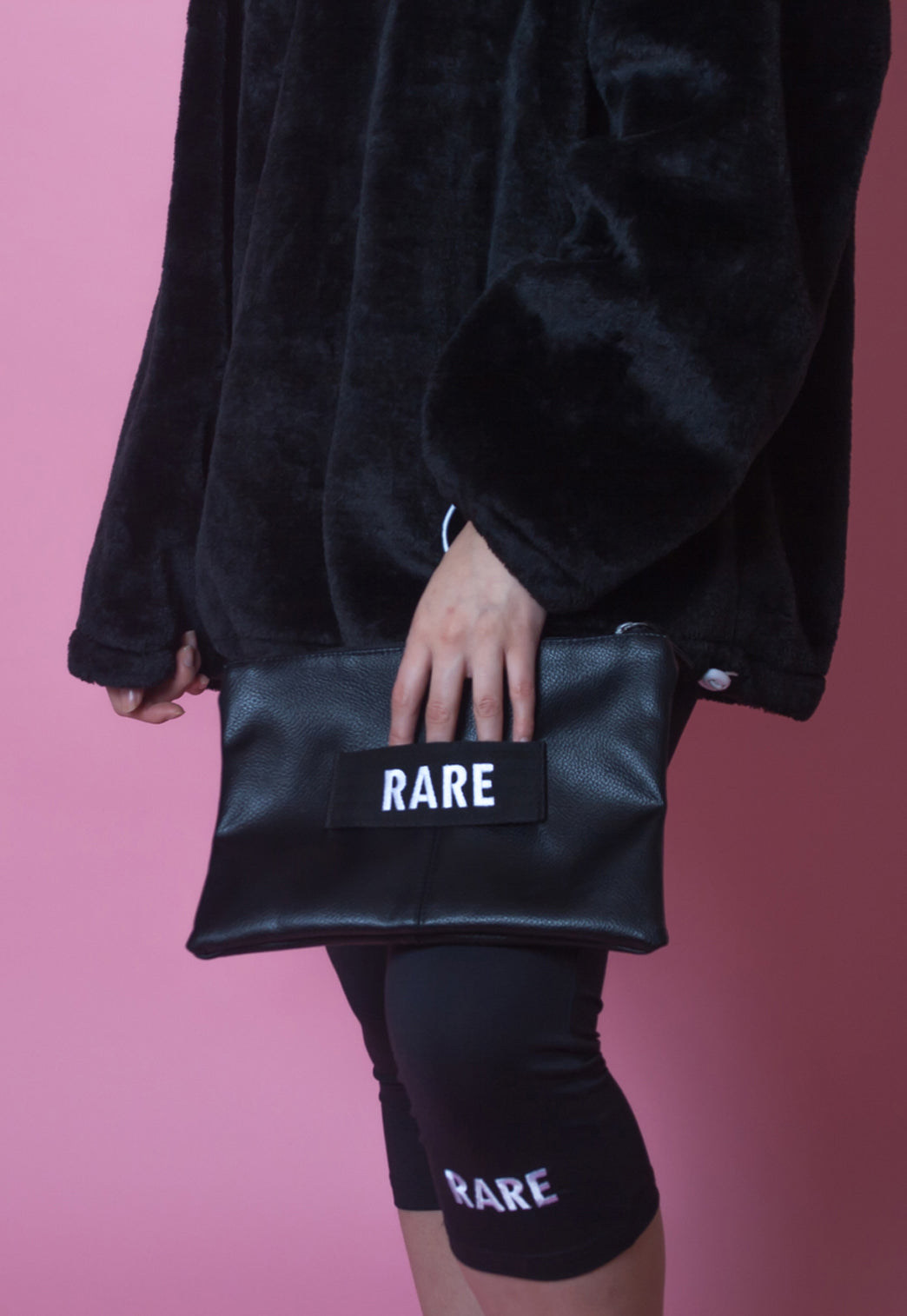 RARE LOGO CLUTCH BAG