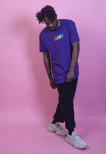 PURPLE OVERSIZED RARE T-SHIRT