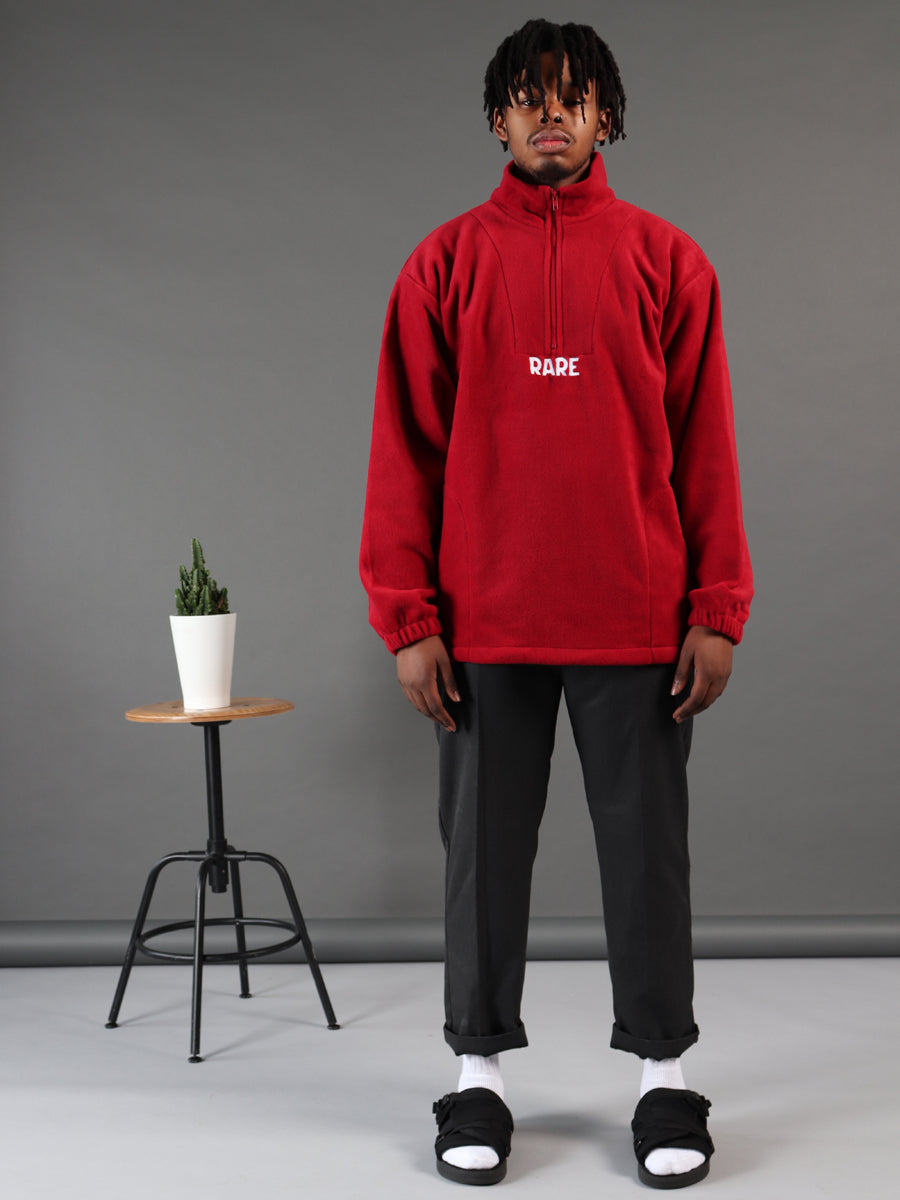Dark Web Red Fleece