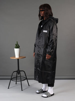Dark Queen Maxi Longline Waterproof Coat
