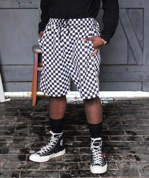 CHECKERED CHEF SHORTS