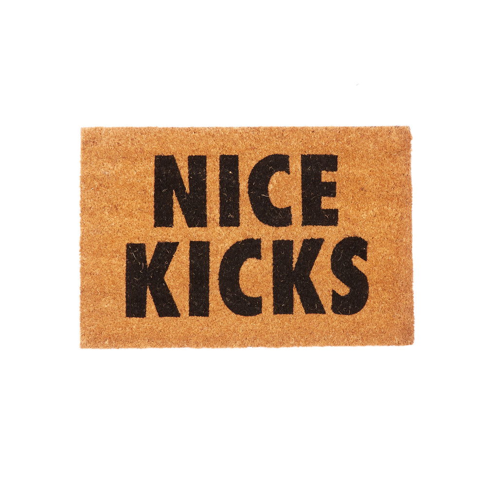 Nice Kicks Door Mat
