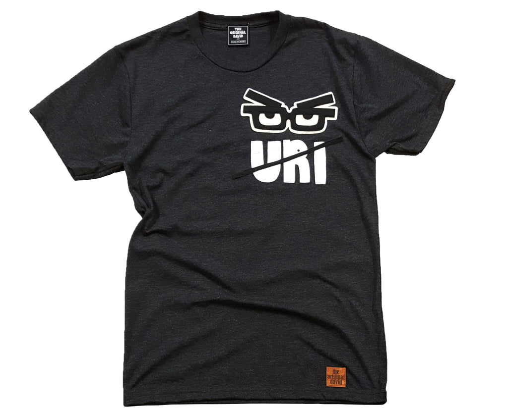 URI STRIKES T-SHIRT CHARCOAL