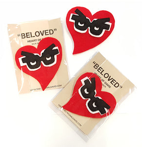 Beloved Heart Iron on Patch
