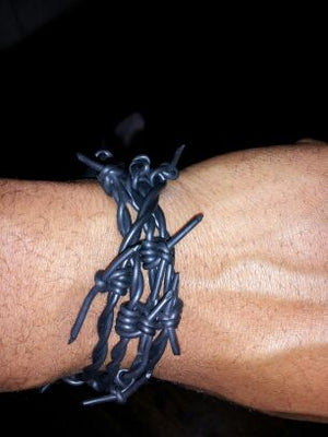 Barbed Wire Bracelets
