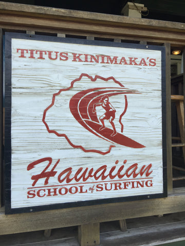 Titus Kinimaka's Hawaiian Surf School