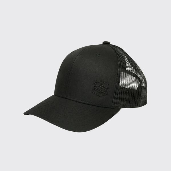 THE CHUCK - LO-PRO TRUCKER IN BLACK