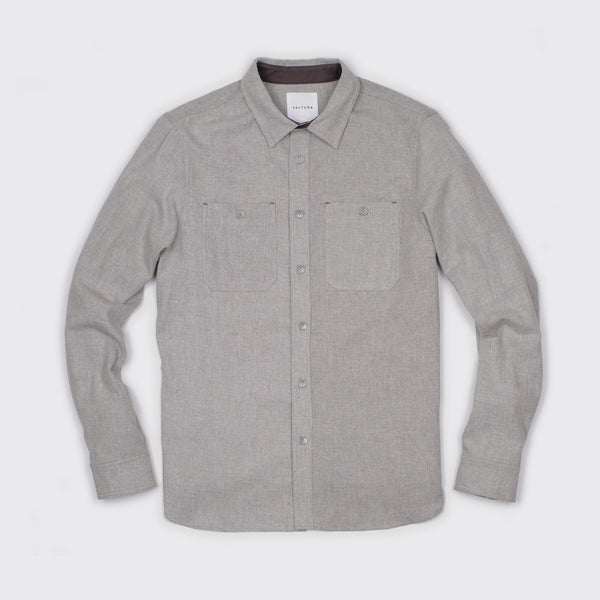THE ELLWOOD - IN JUNE GLOOM GREY FLANNEL