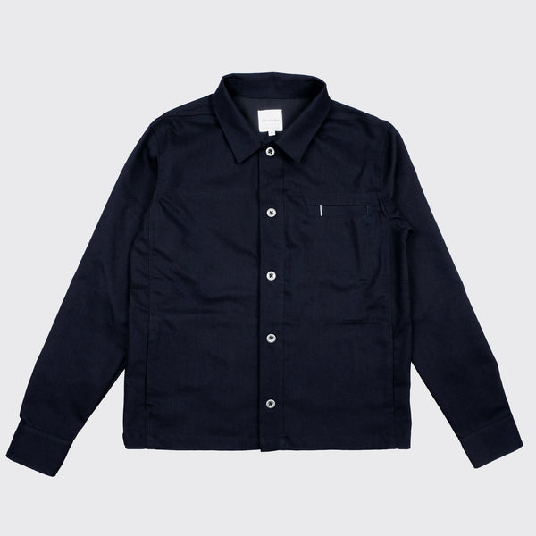 UTILITY JACKET - Dark Denim