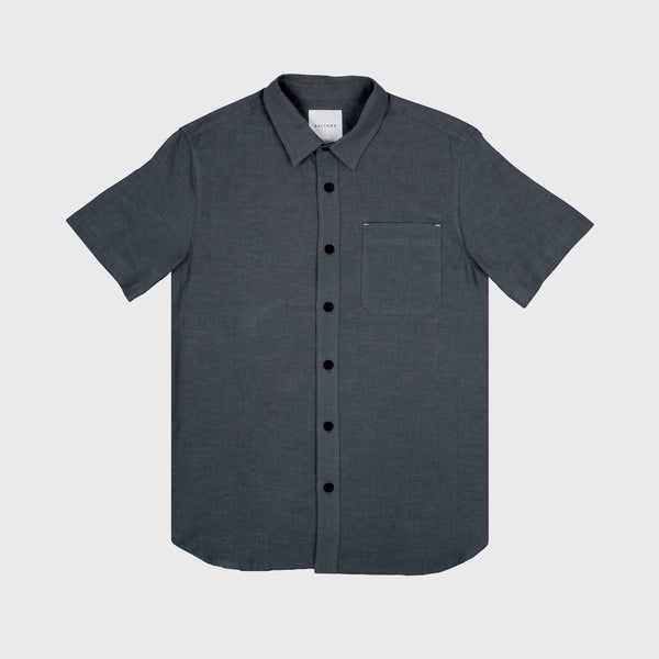 THE PARKER - IN DARK GREY HEMP/COTTON