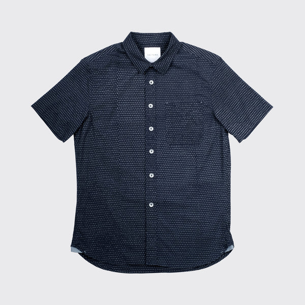 THE PARKER - IN DARK NAVY SCALLOPS