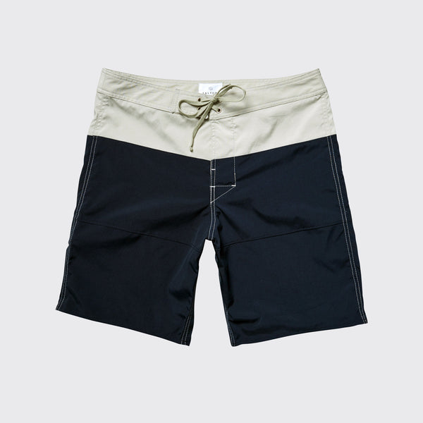 RINCON DIP BOARDSHORT - Grey Blue