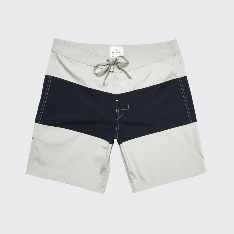 RINCON STRIPE BOARDSHORT - Stripe Blue