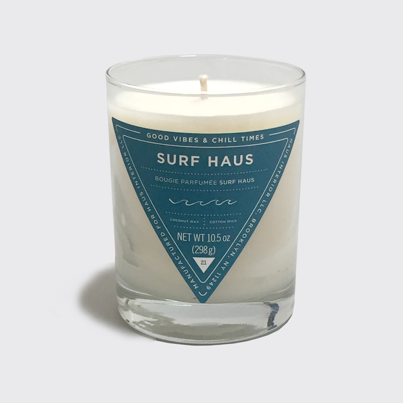 SURF HAUS CANDLE - by HAUS INTERIOR / Nina Freudenberger