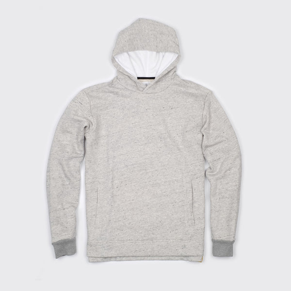 AIRSTREAM HOODIE - Salt & Pepper Terry