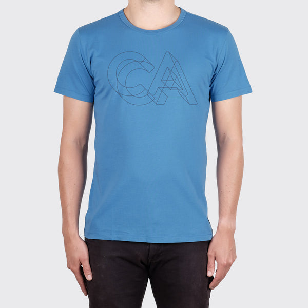 CALIFORNIA TEE - ANCHOR BLUE