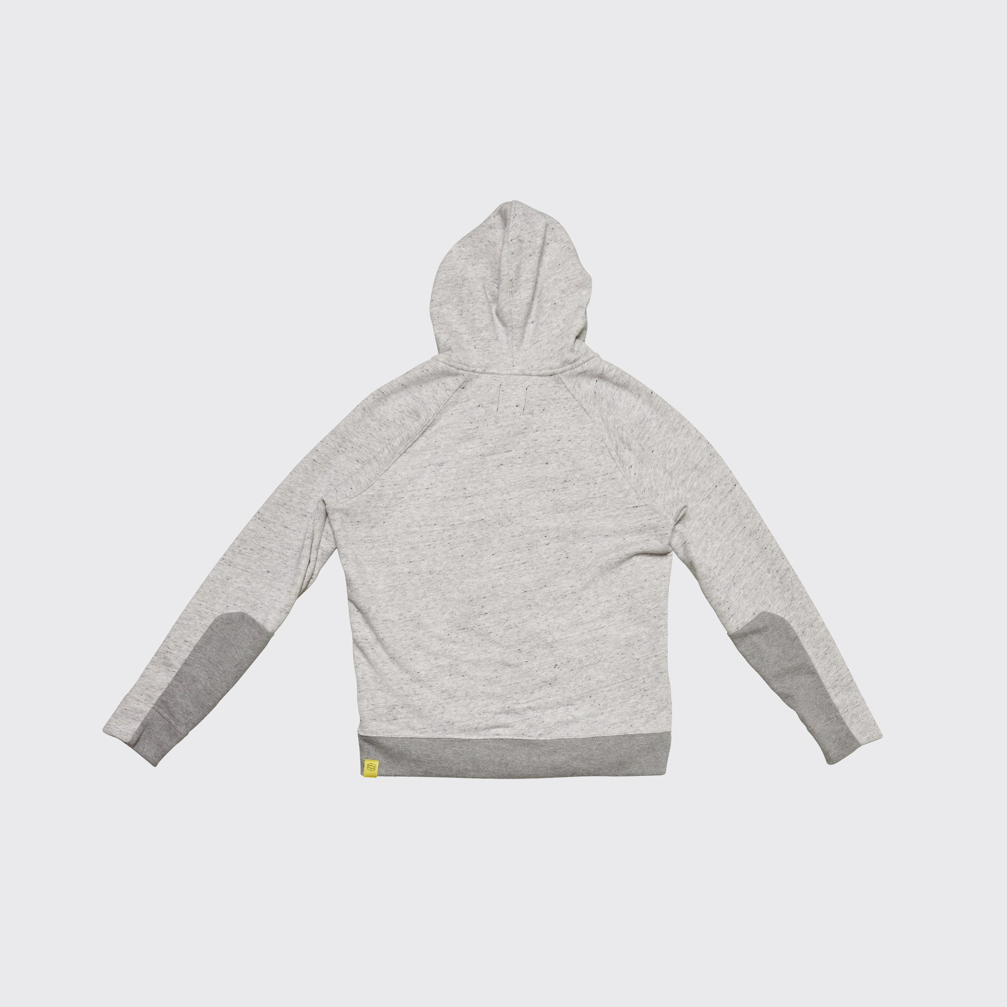AIRSTREAM ZIP HOODIE - Salt & Pepper Terry