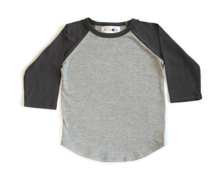 Organic Cotton Basic Baseball T-Shirt