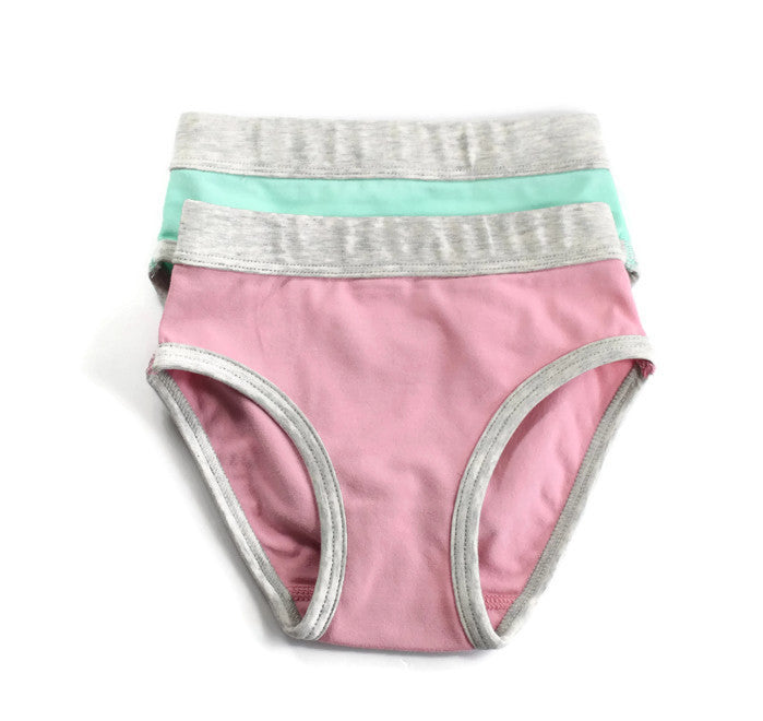BLOOM by Girl Gotch, Brief 2-pack, super soft underwear for kids