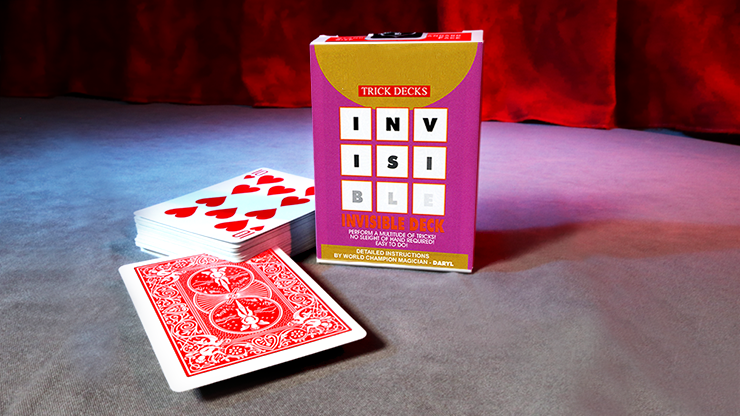 Invisible Deck - Playing Cards and Magic Tricks - 52Kards