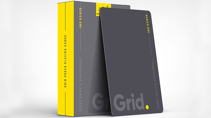 Grid Typographic - Playing Cards and Magic Tricks - 52Kards