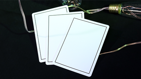 NOC Out: White - Playing Cards and Magic Tricks - 52Kards