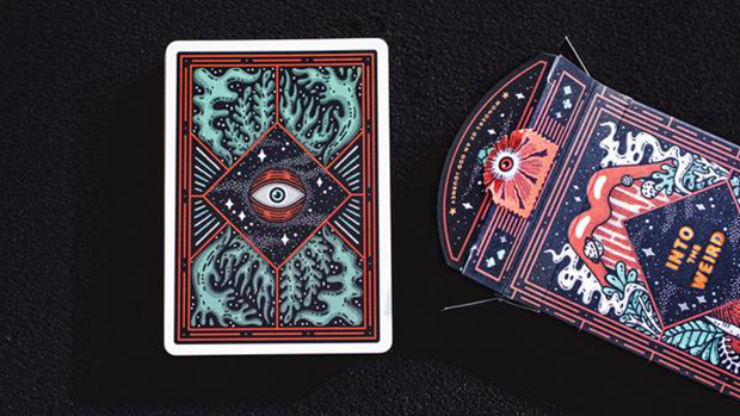 Into the Weird - Playing Cards and Magic Tricks - 52Kards