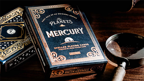 The Planets: Mercury - Playing Cards and Magic Tricks - 52Kards