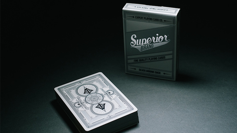 Superior Silver Arrow - Playing Cards and Magic Tricks - 52Kards