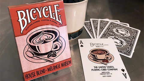 Bicycle House Blend - Playing Cards and Magic Tricks - 52Kards