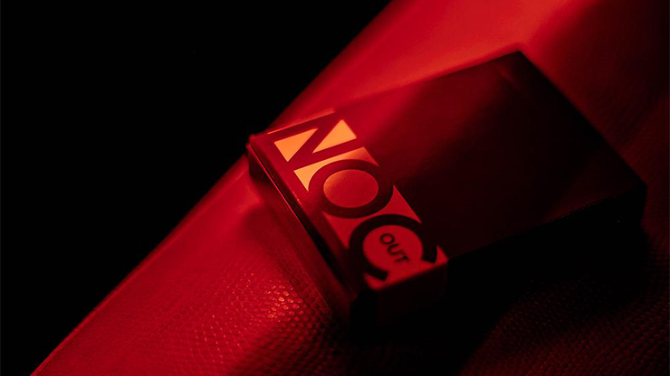 NOC Out: Red & Gold - Playing Cards and Magic Tricks - 52Kards