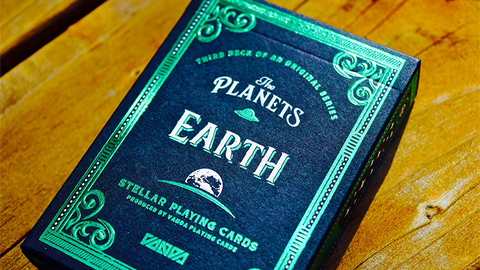 The Planets: Earth - Playing Cards and Magic Tricks - 52Kards