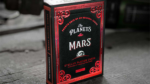 The Planets: Mars - Playing Cards and Magic Tricks - 52Kards