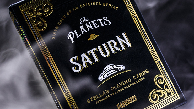 The Planets: Saturn - Playing Cards and Magic Tricks - 52Kards