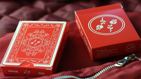 Red Roses - Playing Cards and Magic Tricks - 52Kards