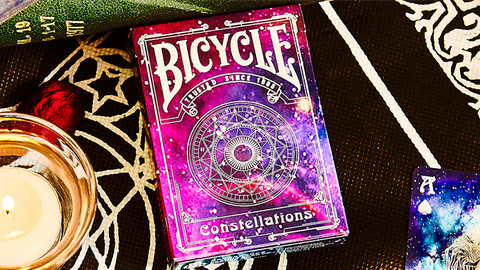 Bicycle Constellations V2 - Playing Cards and Magic Tricks - 52Kards