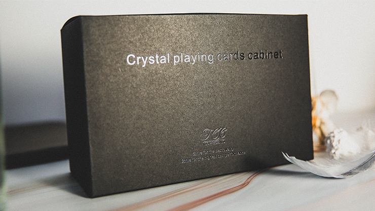 Crystal Deck Cabinet - Playing Cards and Magic Tricks - 52Kards