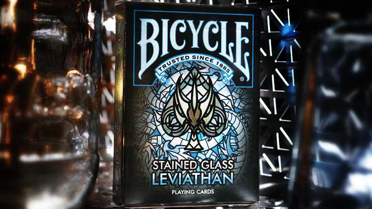 Stained Glass Leviathan - Playing Cards and Magic Tricks - 52Kards