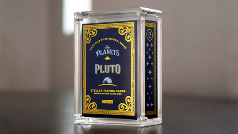 The Planets: Pluto Mini - Playing Cards and Magic Tricks - 52Kards