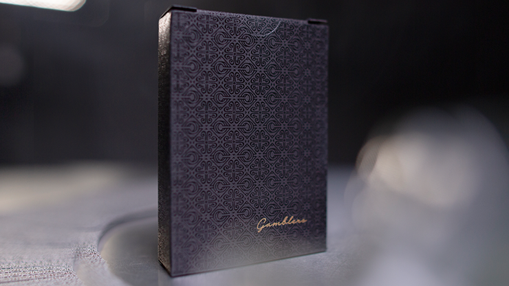 Gambler/'s Playing Cards by Christofer Lacoste Borderless Black