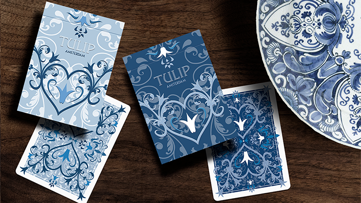 Tulip Playing Cards Set