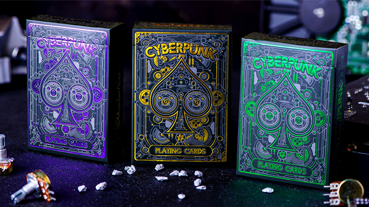 BIERDORF Cyberpunk Playing Cards Novelty Playing Cards Professional 1 Deck of Card