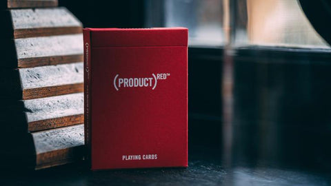 (PRODUCT)RED - Playing Cards and Magic Tricks - 52Kards