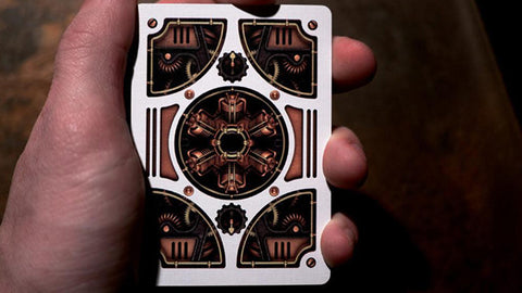 Steampunk - Playing Cards and Magic Tricks - 52Kards